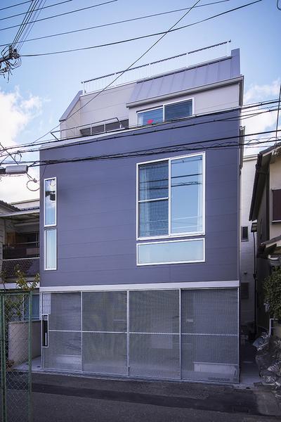 モダンコート家族 / 大阪市平野区の家